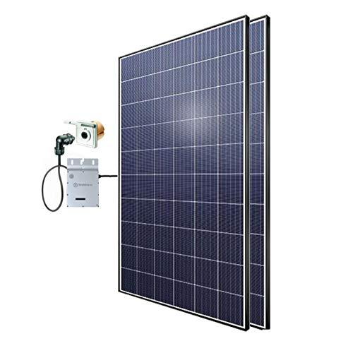 Minisolar Balkon Solar Mono Duo 600 W inkl. Einspeissteckdose