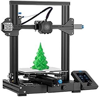 3D Bazaar Creality Upgrade Ender-3 V2 FDM 3D Printer with Silent Motherboard Meanwell Power Supply Carborundum Glass Platf...