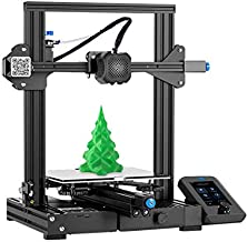 2020 Creality Upgrade Ender-3 V2 FDM 3D Printer with Silent Motherboard Meanwell Power Supply Carborundum Glass Platform a...
