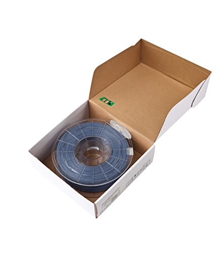 Sindoh 3DWOX Refill Filament ABS Grey (Compatible with DP200, 3DWOX 1, 1X, 2X) , Spool , 1.75 millimeters Diameter (3DP200AGY-R)