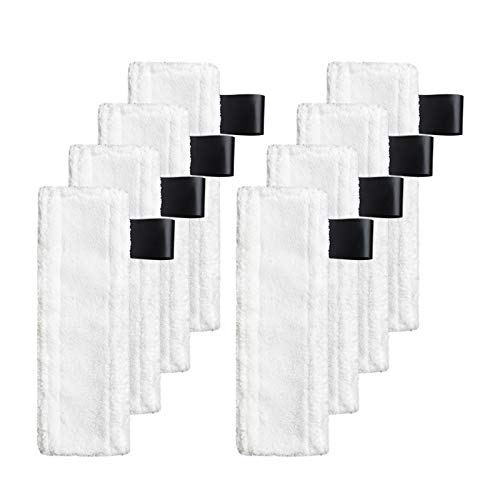 LICHIFIT Mopptuch Reinigungspads Abdeckung für Kärcher EasyFix SC2 SC3 SC4 SC5 Dampfreiniger Ersatzteile, 8 Cleaning cloth
