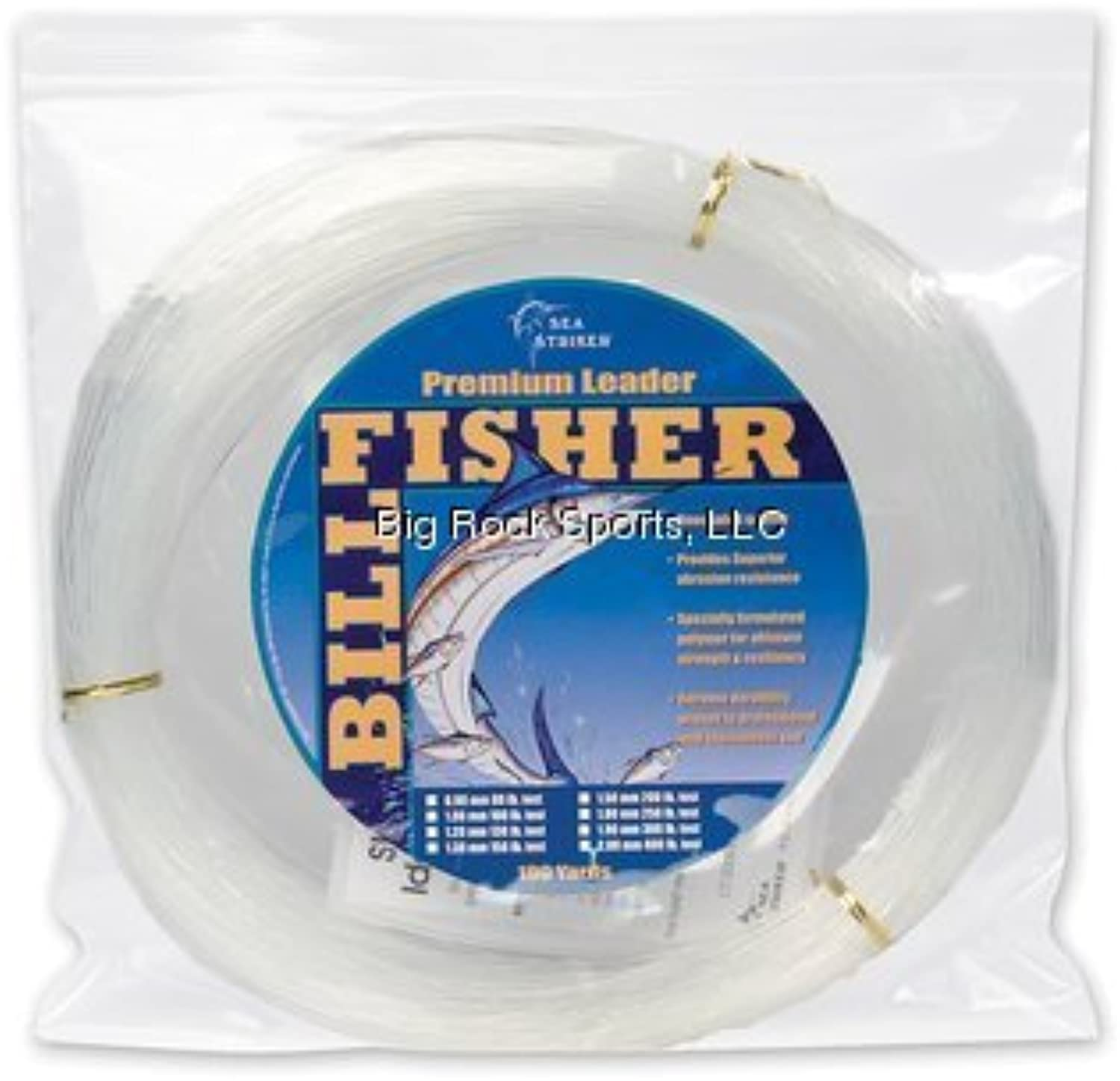 Billfisher LC100–200LEADER Coil Fishing Accessory by Big Rock Sports