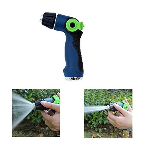 Boquilla de manguera de jardín, boquilla de manguera de agua ajustable Boquilla de manguera de agua de alta presión para coche RV Auto Jardinería