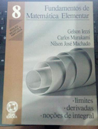 Fundamentos De Matematica Elementar - V. 08