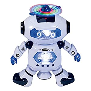 Rite Lite Judah Maccabot TM, The Chanukah Robot That Makes You Smile Toy, White/Blue - 41mqZqL9rbL - Rite Lite Judah Maccabot TM, The Chanukah Robot That Makes You Smile Toy, White/Blue