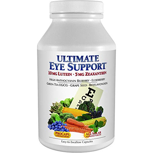 Andrew Lessman Ultimate Eye Support 360 Capsules - 10mg Lutein, 5mg Zeaxanthin, Bilberry, Key Nutrients to Support Eye Health and Promote Healthy Vision. No Additives. Easy to Swallow Capsules