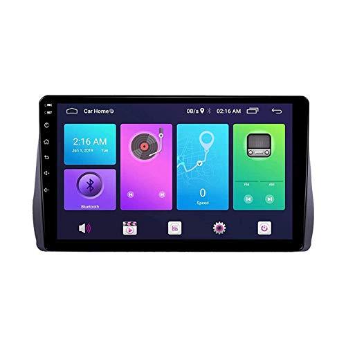 Android Auto estéreo de coche para TOYOTA Wish 2009-2012 unidad principal Sat Nav reproductor multimedia Radio receptor GPS pantalla táctil con 4G WiFi espejo Link, 4 Core 4G+WiFi: 2+32GB