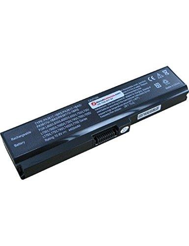 Batterie pour TOSHIBA SATELLITE C660-2D6, 10.8V, 4400mAh, Li-ion