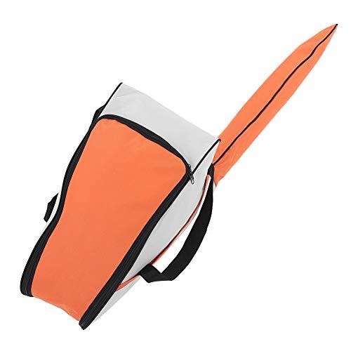 ViaGasaFamido Aufbewahrungstasche für Kettensägen, Tragbare Oxford-Kettensägen-Tragetasche Halter für Schutzbox für Rasenmäher(Orange)
