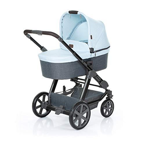 ABC Design Kombi Kinderwagen Condor 4 - Kollektion 2019 | 2in1 Set mit Babywanne und Sportwagen Buggy Aufsatz - Ice