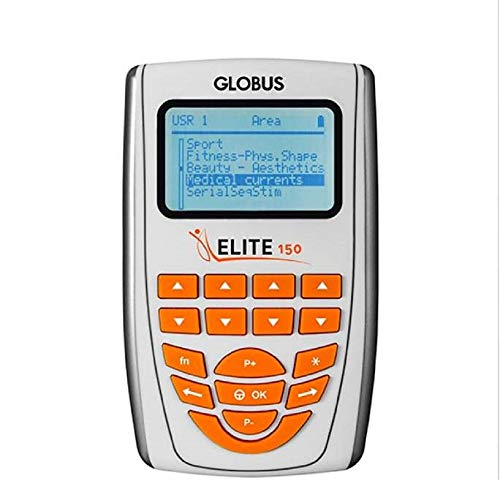 Globus Elite 150, Elettrostimolatore Unisex Adulto, Argento, Unica