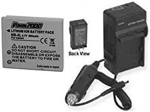 NB-4L NB4L Battery + Charger for Canon SD940 is,Canon SD940IS ELPH 310 HS, Canon IXUS 230 HS