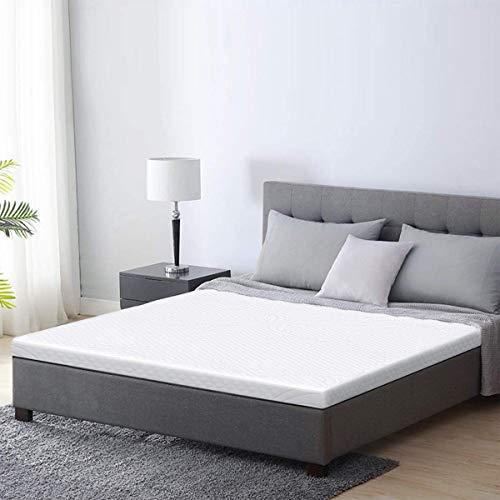 WIDELUCK 3-Inch Memory Foam Mattress Topper , Pressure-Relieving Bed Topper, Memory Foam Mattress Pad ,Twin Size