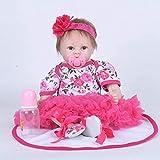 GLXLSBZ Reborn Baby Doll muñecas realistas Rebirth Doll Toy Doll Doll Juguete de educación temprana 55cm Girl Simulation Baby 55cm Reborn Dolls