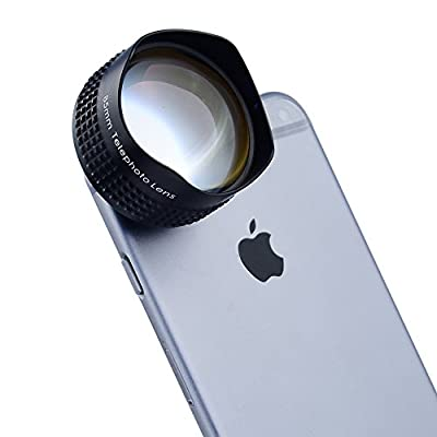 Apexel Lens/ Fish Lense for iPhone 4 4S 5 5S 5C 6 6 Plus,iPad, Samsung Galaxy S3 S4 S5 Note 2 3 4 LG Sony HTC Phones Tablets Black