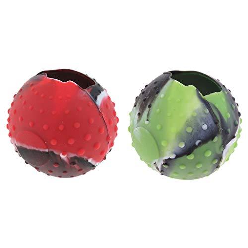 MERIGLARE Capa de Silicone Poke Ball Plus para Switch Joy Con Part