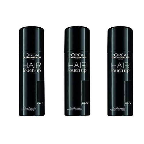 L'Oréal Professionnel Hair Touch Up Black SET 3 x 75ml