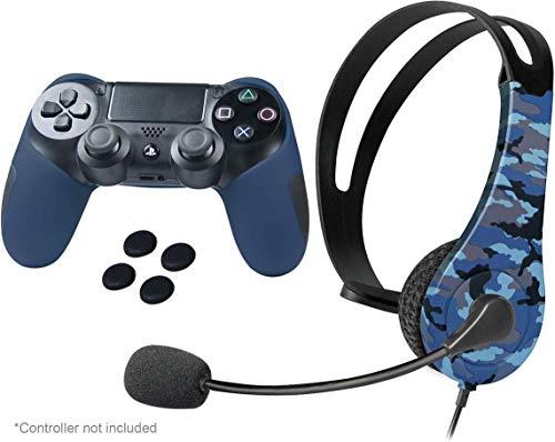 iMW - Set camuflaje para PlayStation 4 (azul)