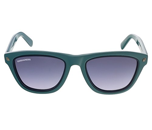 Gafas de sol DSquared2 DQ0169 C51 96W (shiny dark green / gradient blue)
