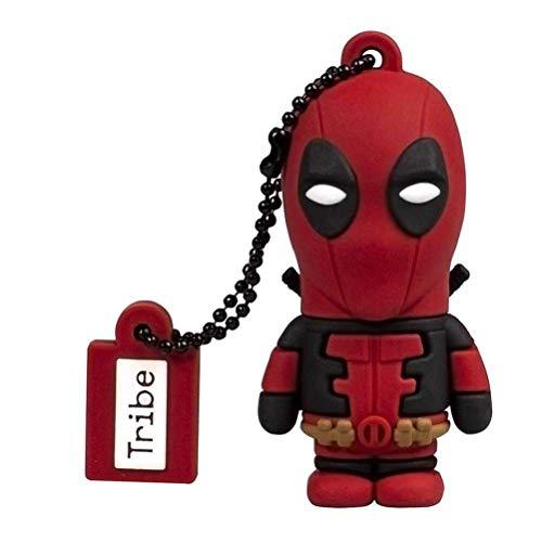 Chiavetta USB 16 GB Deadpool - Memoria Flash Drive 2.0 Originale Marvel, Tribe FD016508