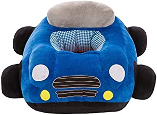 HMG Baby Seats Sofa Cartoon Chair Toys Car Sofa (Pink) (Color : Blue)