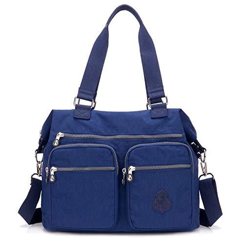 Outreo Borse da Viaggio Borsa a Tracolla Donna Sacchetto Impermeabile Borse a Spalla Borsetta Griffate Borsello Sport Messenger Bag per Scuola Ragazza Tasca