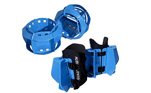 Aquastrength Total Body Bundle (Blue) - Functional Aquatic Workout Equipment - Includes Online Link to Access Demonstration Video with 30 Sample Exercises & Workout Program
