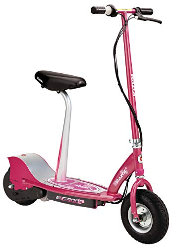 Razor E300S Seated Electric Scooter - Sweet Pea, 10 in. (Front Wheel)