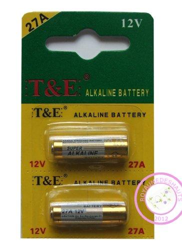 lot de 5 piles alkalins 27A 12V