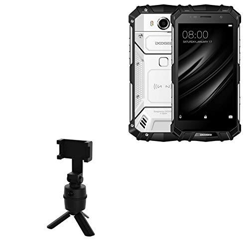 Suporte e suporte Doogee S60 Lite, BoxWave [Suporte PivotTrack para selfie] Suporte de rastreamento facial pivô para Doogee S60 Lite – Preto