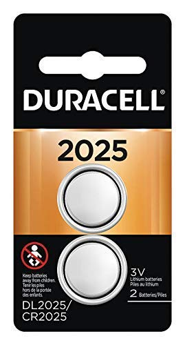Duracell Specialty 2025 Lithium Coin Battery 3V, Pack of 2...