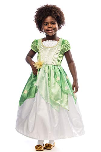 Little Adventures Classic Lily Pad Princess Dress Up Costume (Small Age 1-3)