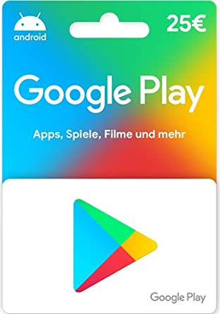 Google Play – for Germany – Gift Card by Post