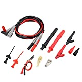 BXU-BG Cables de prueba del multímetro P1300C electrónico...
