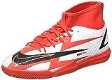 Nike Jr. Mercurial Superfly 8 Academy CR7 IC, Zapatillas de ftbol, Chile Red Black White Total Orange, 38 EU