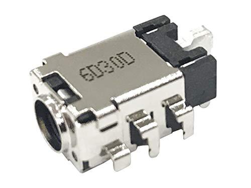 HT-ImEx Conector de alimentación DC Jack para ASUS ZenBook UX330UA, UX330UAK, UX3410U, UX410UA, UX430, UX430U y UX430UA
