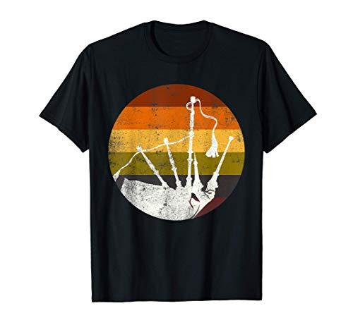 Gaita retro divertida Gaita escocesa de regalo de gaitero Camiseta