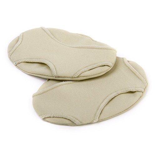 WINOMO Un coussin d'absorbeur de soulagement douleur métatarsienne paire pied Gel avant-pied tampons taille S