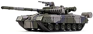 Russian Tanks T-80 Soviet Main Battle Tank 1976 Year 1/72 Scale Diecast Model Camouflage Color