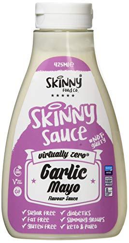 The Skinny Food Co. Zero Calorie Garlic Mayo Sauce, 425 ml