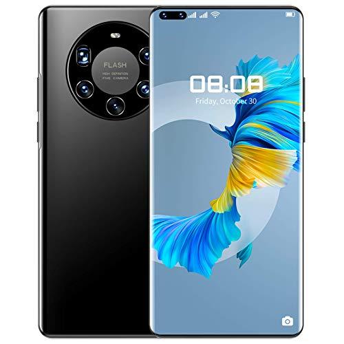 "Lenove Mate40pro+ Teléfono Móvil 5G Smartphone con Pantalla Ultra FullView FHD+ de 7.3\"" (12GB de RAM + 512GB de ROM, Cinco Cámaras Traseras,6000 mAh, Android 10.0,Dual SIM)"