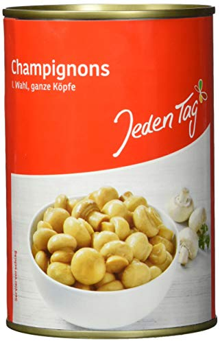 Jeden Tag Champignons ganze Köpfe, 400 g