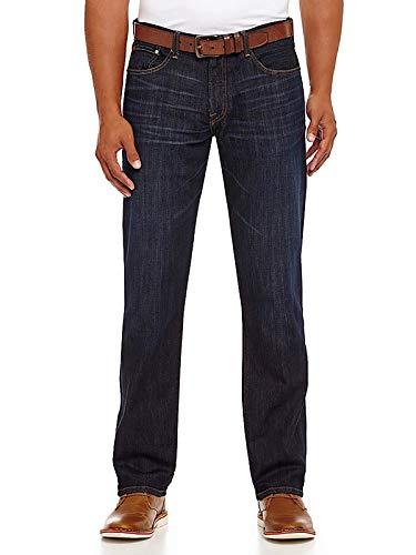 Lucky Brand Men's 221 Straight Jean, Barite, 34W X 32L