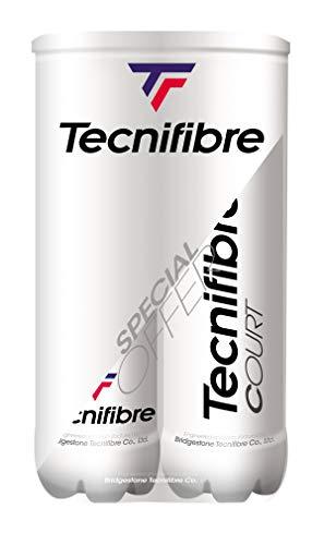 Tecnifibre Palline Tennis Court Pack 8Palline