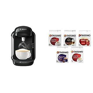 Bosch Tassimo Vivy 2 Coffee Machine Bundle with Tassimo Variety Box - Pack of 5 (56 Servings) (B07BQZZ417) | Amazon price tracker / tracking, Amazon price history charts, Amazon price watches, Amazon price drop alerts