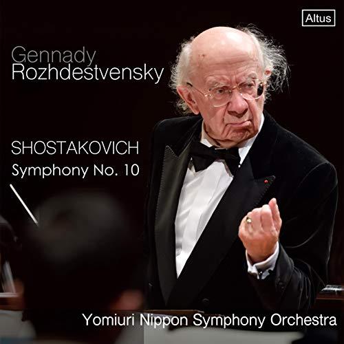 第562回 定期演奏会 / ショスタコーヴィチ : 交響曲 第10番 (Shostakovich : Symphony No.10 / Gennady Rozhdestvensky | Yomiuri Nippon Symphony Orchestra) [CD] [国内プレス] [日本語帯解説付]