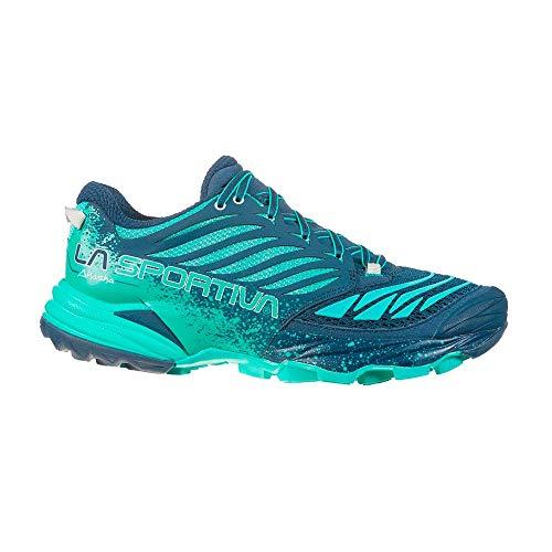 La Sportiva Akasha W Bleue Aqua Chaussure de Trail...