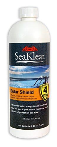SeaKlear Solar Shield Liquid Pool Solar Cover - 1 Quart...