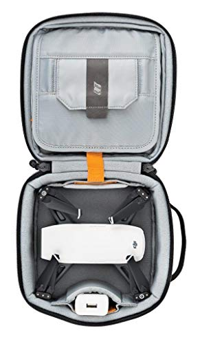 Lowepro LP36915 ViewPoint CS 40 - A Soft-Sided Protective Case for a Smartphone, GoPro or 360 Camera and Accessories… 7 Smart interior organization includes adjustable dividers, three with a built-in pockets to stash a backdoor, filter or remote (and keep it from scratching camera); plus a roomy zippered pocket for cables, backdoors, mounts, tools, manuals, etc.; top panel with built-in memory pockets; plus a padded panel with stretching webbing straps to organize and secure cables and mounts Super-portable design makes it easy to carry in a larger bag or carry by the grab handle. Exterior webbing straps provide extra carry and attach options.