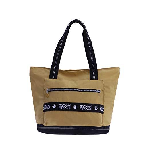 Bolso Shopper para Mujer Mostaza...
